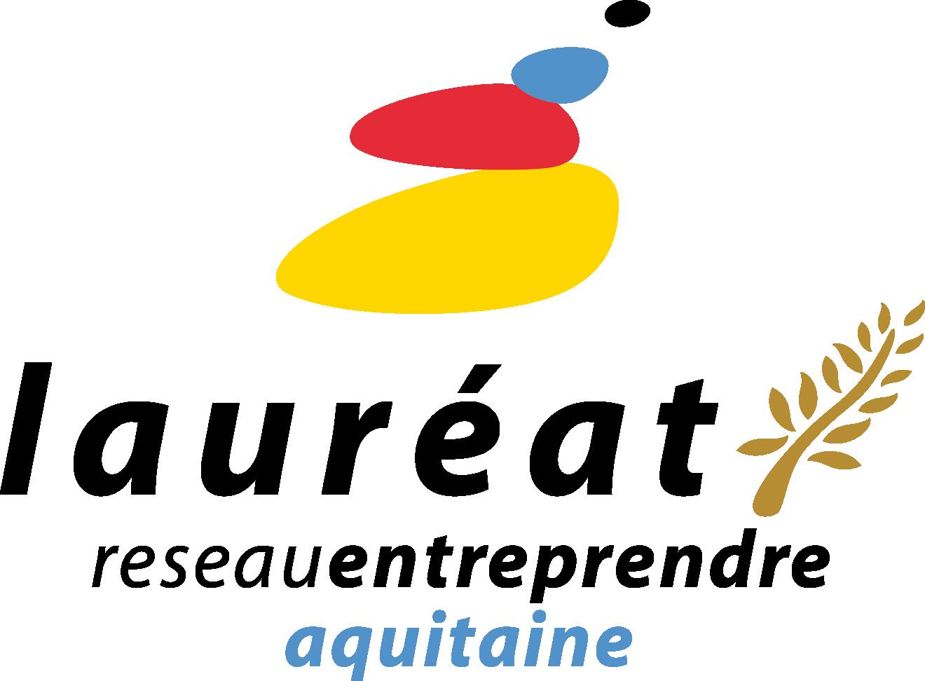 Logo Lauréat Réseau Entreprendre